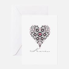 Love Karen Greeting Card
