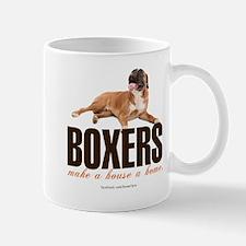 Boxers Make a House a Home Mug