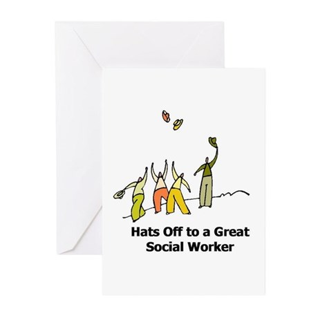 Great Social Worker Greeting Cards