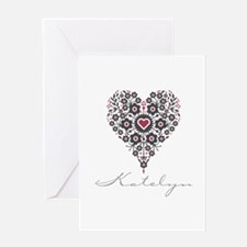 Love Katelyn Greeting Card