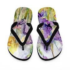 Romantic Ruffles Flip Flops