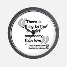 Alvarez Love Quote Wall Clock