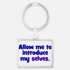 Introduce My Selves Landscape Keychain