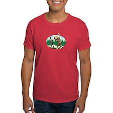 Abe Lincoln vs. Sasquatch T-Shirt