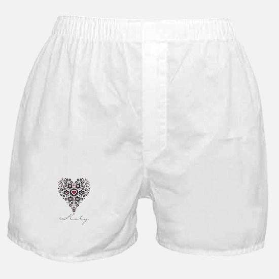 Love Katy Boxer Shorts