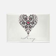 Love Kay Rectangle Magnet