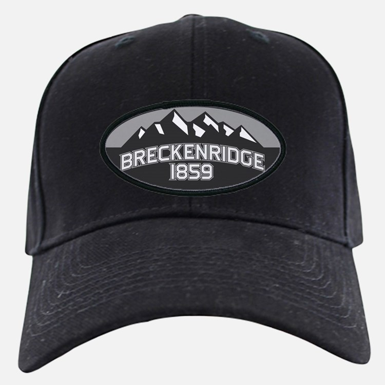 Breckenridge Grey Baseball Hat