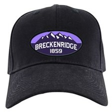 Breckenridge Purple Baseball Hat
