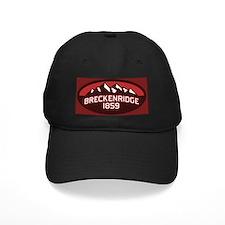 Breckenridge Red Baseball Hat