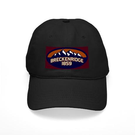 Breckenridge Vibrant Black Cap