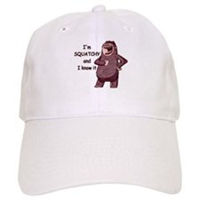 Squatchy & I Know It Baseball Cap