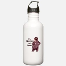Squatchy & I Know It Water Bottle
