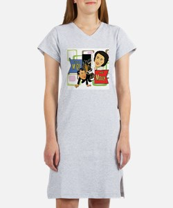 Fibber McGee And Molly Women's Nightshirt