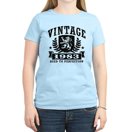 Vintage 1983 Women's Light T-Shirt