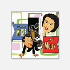Fibber McGee And Molly Sticker