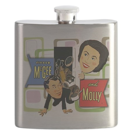 Fibber McGee And Molly Flask