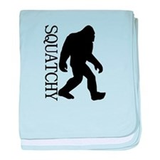 Squatchy Silhouette baby blanket