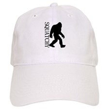 Squatchy Silhouette Baseball Cap