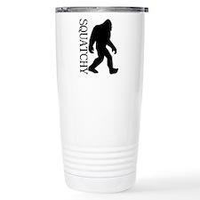 Squatchy Silhouette Travel Mug