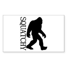 Squatchy Silhouette Decal