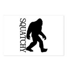 Squatchy Silhouette Postcards (Package of 8)