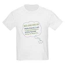 Spam Dream Piggy Kids T-Shirt