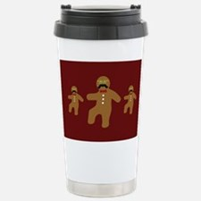 Gingerbread Man Disguise Travel Mug