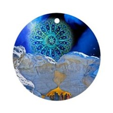 Winter Solstice Light Ornament (Round)