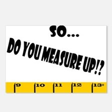 Ruler Measure Up 2 Postcards (Package of 8)