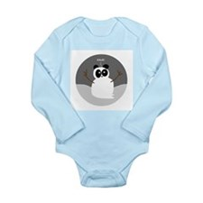 Snow Panda Long Sleeve Infant Bodysuit