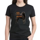 Curly coated retriever Women's Dark T-Shirt