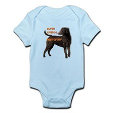 Curly Coated Retriever Infant Bodysuit