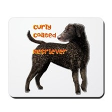 Curly Coated Retriever Mousepad