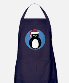 Angry Penguin Apron (dark)