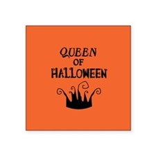 "crowngreetingcard.png Square Sticker 3"" x 3"""