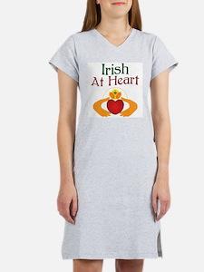 Irish At Heart Women's Nightshirt