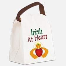 Irish At Heart Canvas Lunch Bag