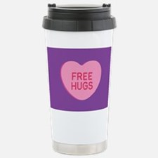 Free Hugs Stainless Steel Travel Mug