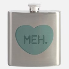 Meh Candy Heart Flask