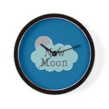 Twilight New Moon Wall Clock