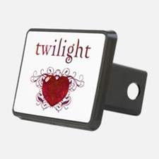 Twilight Fire Heart Hitch Cover