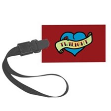 Twilight Heart Tattoo Luggage Tag