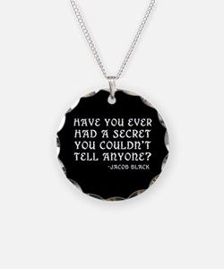 Jacob Twilight Secret Quote Necklace