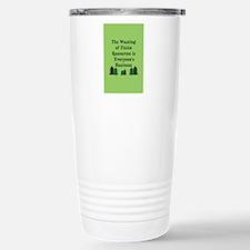 Finite Resources Stainless Steel Travel Mug
