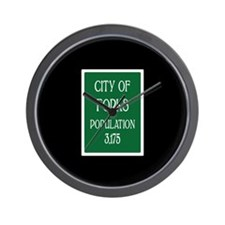 Twilight Forks Sign Wall Clock