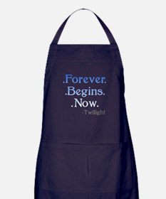 Forever Begins Now Apron (dark)