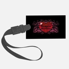 Vampire Sweetheart Luggage Tag