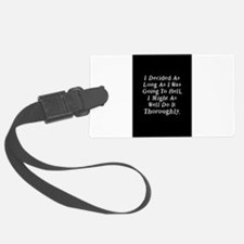 Twilight Hell Quote Luggage Tag