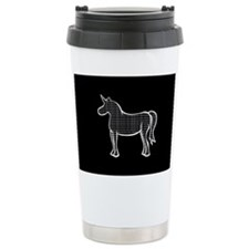 Binary Unicorn Travel Mug