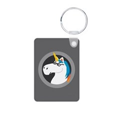 Geekicorn Aluminum Photo Keychain